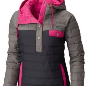 Women's Columbia pullover insulated jacket size L